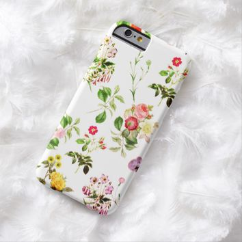 Claire Blossom Vintage flower Barely There iPhone 6 Case
