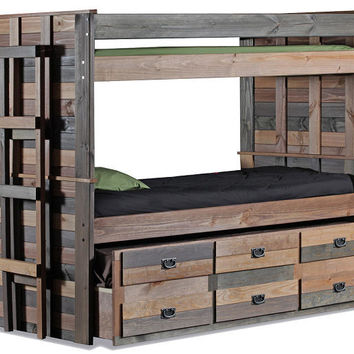 Morgan Creek Twin over Twin Combo Bunk Bed