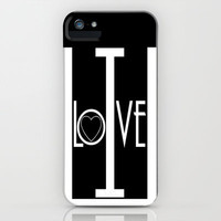 Sorority/I Love U iPhone Case by Richard Casillas | Society6
