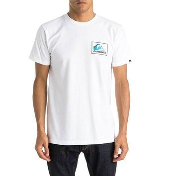 Quiksilver New Wave T Shirt  White