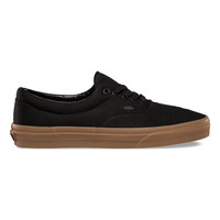 Vans Era Mens Shoes Black/Classic Gum  In Sizes