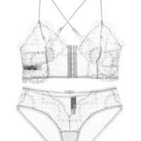Florence Lace Two Piece - White