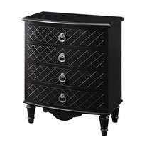 Black Diamond Contemporary Bombay Chest