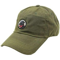 Frat Hat in Olive Green Wax by Southern Proper