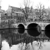 Amsterdam photography Amsterdam art print travel photography Amsterdam canal bedroom wall decor Europe photography 4x6 5x7 6x8 8x11 10x15