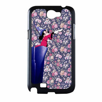 Mickey Mouse The Wizard Floral Vintage Samsung Galaxy Note 2 Case
