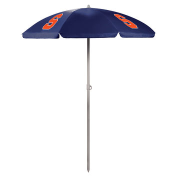 5.5' Portable Beach/Picnic Umbrella - Syracuse Orange