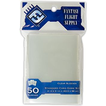 Standard Card Game Sleeves (FFG Gray - 50)