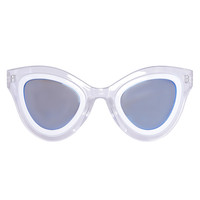 Space Cadet Sunglasses - Clear