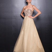 PRIMA Glitz GZ1463 Sequin and Tulle Evening Gown - Prom