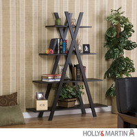 Holly & Martin 53-167-013-6-01 Milford Black Etagere