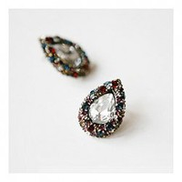 Retro Style Elegant Olivet and Rhinestone Embellish Ear Pin For Female China Wholesale - Sammydress.com