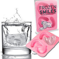 PLASTICLAND - Frozen Smiles Silicone Ice Cube Tray