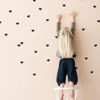 Mini Hearts Wallstickers