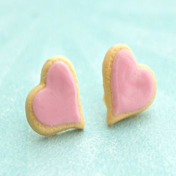Heart Sugar Cookies Earrings