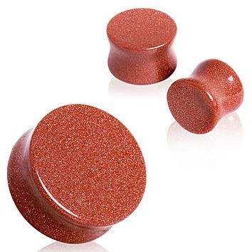 Gold Sand Stone Saddle Plug
