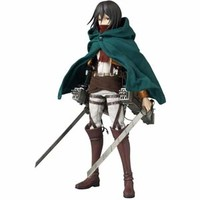 Mikasa Ackerman Real Action Heroes Figure ~ Attack on Titan! **Preorder**