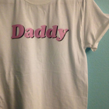 Daddy tumblr shirt- tumblr tee