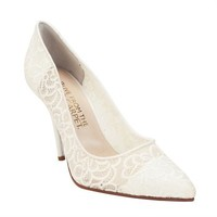 E! Live from the Red Carpet Point Toe Lace Pump at Von Maur