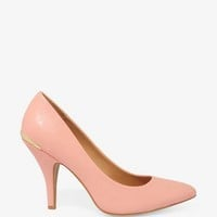Metal Trim Pointed Pumps | FOREVER 21 - 2027706113