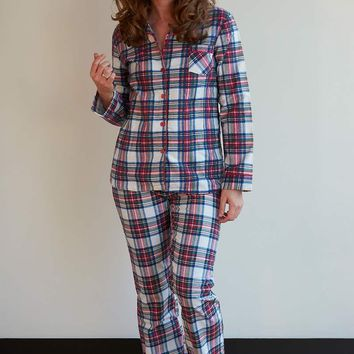 Plus Size Flannel Pajama Gift Sets - 7 Colors!
