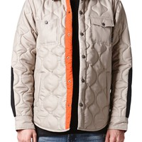 Nixon Shelton Jacket - Mens Jacket - Tan