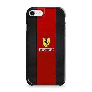 FERRARI LOGO RED BLACK DESIGN iPhone 6 Plus | iPhone 6S Plus Case