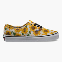 VANS Sunflower Authentic Womens Shoes | Sneakers