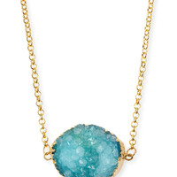 Rock Candy Necklace, Turquoise - Jules Smith - Turquoise (ONE SIZE)