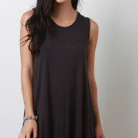 Women's Sleeveless Trapez Dress
