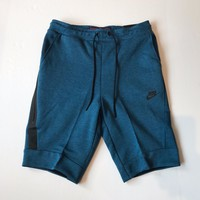 KUYOU Nike Sportswear Tech Fleece Shorts Industrial Blue 805160-457