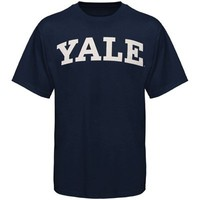 Yale Bulldogs Arch T-Shirt – Navy Blue