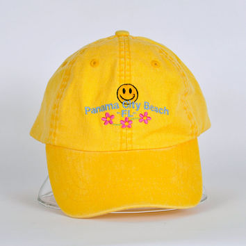 90's Smiley PCB Velcro Cap