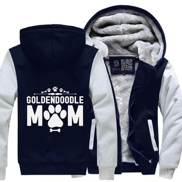 Goldendoodle Mom, Family Love Fleece Jacket