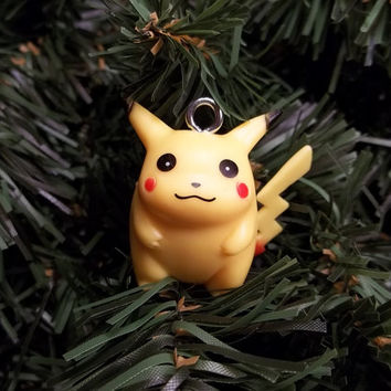Pikachu Christmas Ornament.Pikachu Christmas Ornament From Chgallery On Etsy