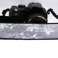 Grey Camera Strap. DSLR SLR Camera Strap. Camera Strap. Camera Accessories