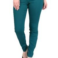 TrueSlim Teal Jeggings for Women