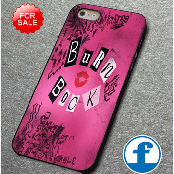 Mean Girls Burn Book for iphone, ipod, samsung galaxy, HTC and Nexus Phone Case