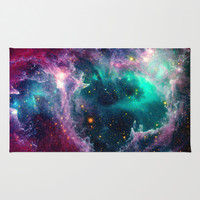 Pillars of Star Formation Rug by Starstuff