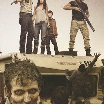 The Walking Dead Zombie Stand-off Poster 24x36