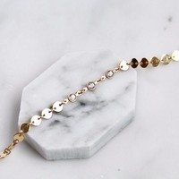 Pia Triple Crystal Choker