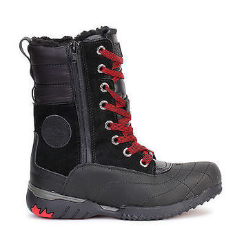 Pajar Canada Womens Snow Boots Kimberly Waterproof Black