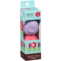 eos Delightful Lip Balms, .25 oz, 2 count - Walmart.com