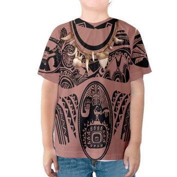 Kid's Maui Moana Inspired Disneybound Shirt