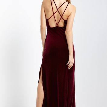 be23f5954d9 Best Velvet Burgundy Maxi Dress Products on Wanelo