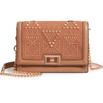 Rebecca Minkoff Small Dylan Studded Leather Crossbody Bag | Nordstrom