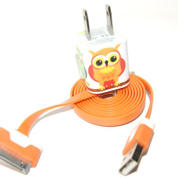 Cute Owl iPhone Charger ( 3 In 1 charger )