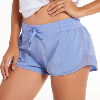 Women's Sports Workout Shorts Running Pants with pocket