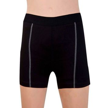 Women Sexy  Spandex Comfy Stretch Running Exercise Sport Yoga Fitness Gym Shorts