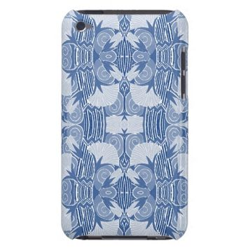 Art Deco Pattern - Light Blue Shades Barely There iPod Case